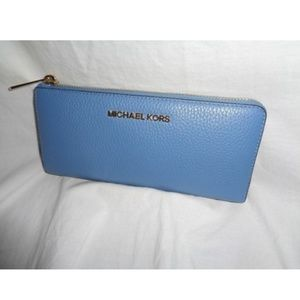Michael Kors Bedford Three Quarter Zip Wallet